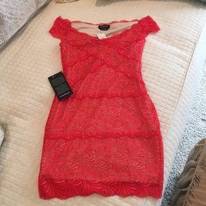 bebe Dresses - Coral Pink BEBE dress